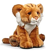 Animigos World of Nature 24cm Plush Lion Cub Soft Toy