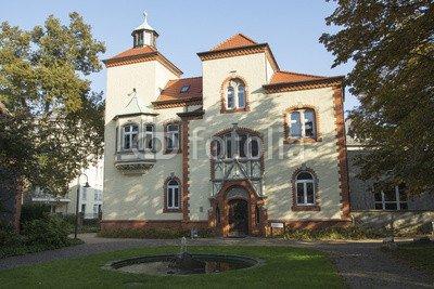 """Alu-Dibond-Bild 140 x 90 cm: """"Willy-Brandt-Haus in Recklinghausen, NRW, Deutschland"""", Bild auf Alu-Dibond"""