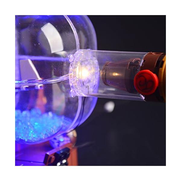 LIGHTAILING Set di Luci per (Nave in Bottiglia) Modello da Costruire - Kit Luce LED Compatibile con Lego 21313 (Non… 3 spesavip