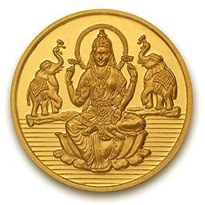 P.N.Gadgil Jewellers, 3 gm, 24k (995), Laxmi shree Pure Gold Coin