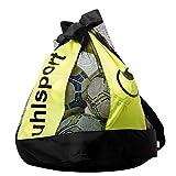 uhlsport Ballbag (12 Balls) Sporttasche, 48 cm, 60 L, Schwarz/Fluo Gelb