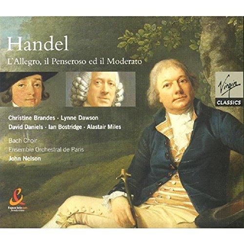Preisvergleich Produktbild Händel: L'Allegro,  il Penseroso ed il Moderato (Ilpeng.Et Il Mod.)
