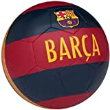 M Art Black & Red Barca Pitche Red Football (Size-5) Football - Size: 5  (Pack of 1, Red)