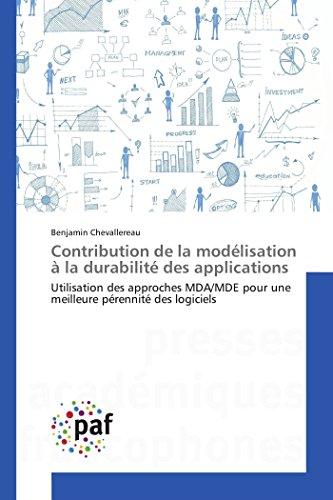 Contribution De La Modélisation A La Durabilité Des Applications par Benjamin Chevallereau