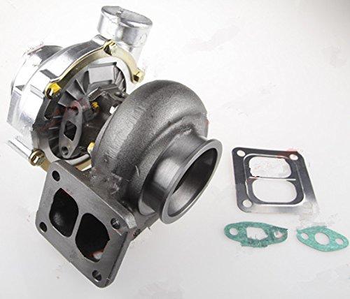 Gowe Turbolader für t04z T70T4Flansch A/R Saite A/R Öl Light Turbo 10,2cm V Band Turbolader 500HP