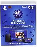 PlayStation Network Card 20  [Guthabenkarte für österreichisches PSN-Konto]