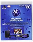 PlayStation Network Card 20 € [Guthabenkarte für österreichisches PSN-Konto]