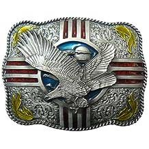 Buckle Cinturón Hebilla Eagle águila Western indios + regalo bolsitas