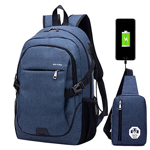 School backpack laptop backpack travel bag travel bag for man with USB charging port