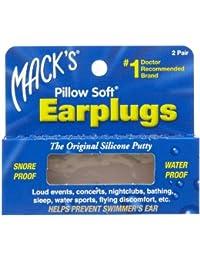 MACK'S® Pillow Soft (2 Paires) Bouchons