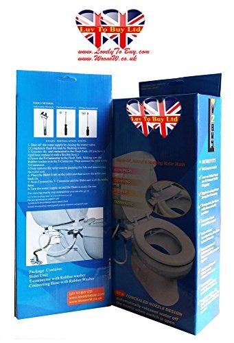 Bidet, WC Bidet, Cold Water Bidet, Einfache Installation (sobald Sie versuchen, Sie werden es lieben) 050 DE