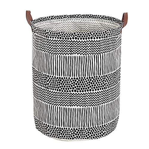 ufbewahrungsbox Ablagekorb wasserdichte PE-Beschichtung aus Baumwolle (B) ()
