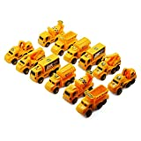 #7: Amity impex Working Construction & Transport Truck Toy Set of 12 Trucks