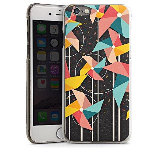 Apple iPhone 5s Housse Étui Protection Coque Éolienne Motif Motif CasDur transparent
