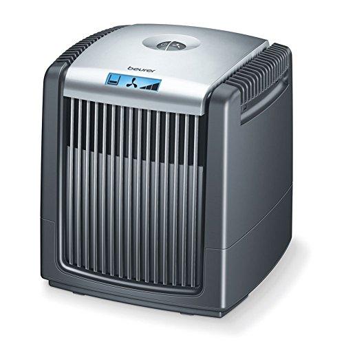Beurer LW 110 Luftwäscher (zur Luftbefeuchtung und Luftreinigung, für Räume bis 36 m²) schwarz