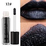 Lipgloss Set, KIMODO UBUB Metall Perle Lippenstift Feuchtigkeitscreme Samt Lippenstift Kosmetik Beauty Makeup
