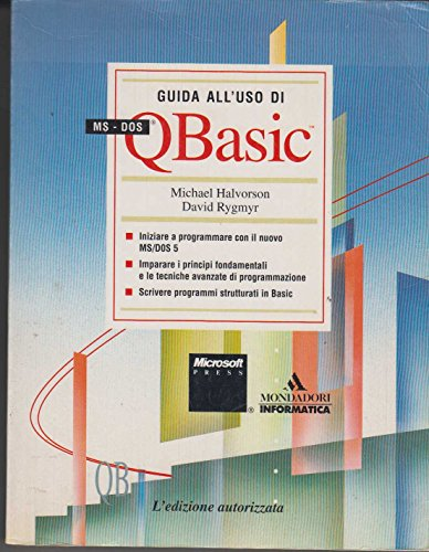 Il libro MS-DOS Q Basic