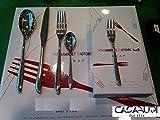 Sambonet LEAF 60 PEZZI POSATE(12 coltelli tavola+ 12 forchette tavola +12 cucchiai tavola- 12 cucchiaini- 12 forchette dolce) in nuova confezione