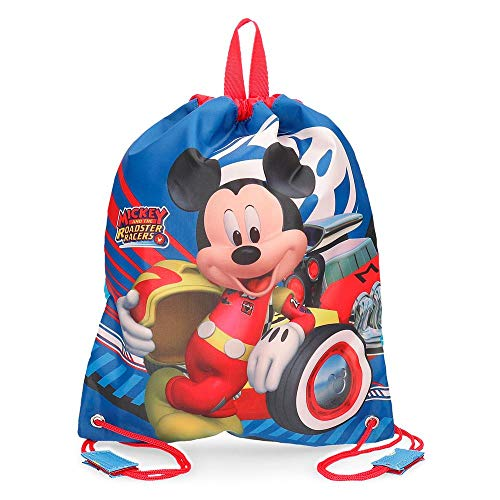 Disney World Mickey Zainetto per bambini 34 centimeters 0.46 Rosa (Multicolor)