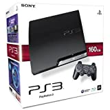 PlayStation 3 - Konsole Slim 160 GB mit Sports Champions Move Pack