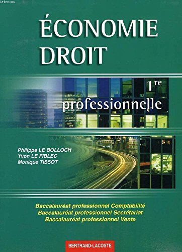 Economie - Droit : BEP, seconde (guide pédagogique + CD-ROM)