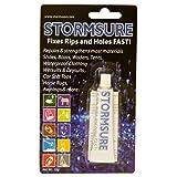 Stormsure Klarer Flexibler Reparaturkleber Transparent, 3x 5Gramm