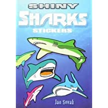 Shiny Sharks Stickers (Dover Little Activity Books Stickers)