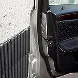 Pannelli Wall Bumper di leggerodesign| Paracolpi Garage per proteggere le portiere dell'auto | Set da 4 Pannelli Adesivi Ammortizzanti, Idrorepellenti | 44cm x 59cm l'uno | Colore: Nero