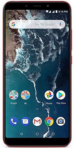 Xiaomi Mi A2 64GB Cellulare, Rosso, Android 8.1 (Oreo)