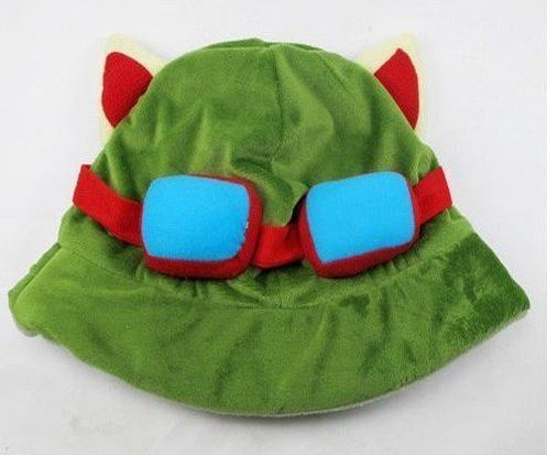 Legends League Teemo Of Kostüm - LOL League of Legends Teemo Cosplay Hut Kappe