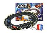 Slot Car Circuit da Voiture Electrique KING 184 cm avec 2 Voitures