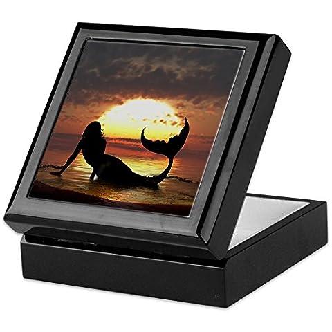 CafePress - Existence - Keepsake Box, Finished Hardwood Jewelry Box, Velvet Lined Memento Box