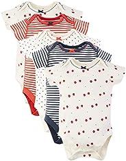 Marks & Spencer Baby-Girls' 5 Pack Organic Cotton Bodysuits, W