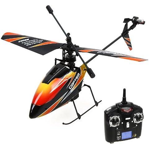 Mini Dron - helicóptero del RC de 4 canales de 2,4 GHz