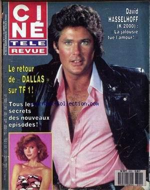 CINE TELE REVUE [No 1] du 01/01/1987 - DALLAS - DAVID HASSELHOFF.