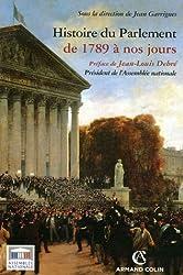 Histoire du Parlement : De 1789 à nos jours