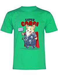 PALLAS Unisex Corgi Cute Puppy I AM LOAF Funny T-Shirt