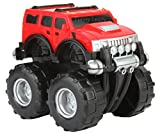 #3: Funny Teddy Unbreakable Hummer Car Toy Set (Small car) | Monster Truck Automobile Monster Truck | Birthday Gift (Red)