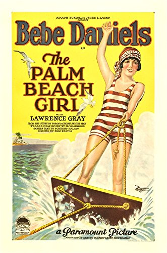 Posterazzi - The Palm Beach Girl Movie Poster Masterprint (60,96 x 91,44 cm) - Palm Girl Poster