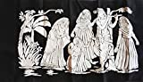 #8: Jai AMBEY Stores Valvet Cloth Emboss Painting Kit (38X60cm) (One Painting)