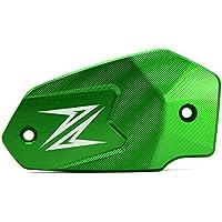 Z900 Z800 Z650 ER6F ER6N Motorradaccessoires Vorderer Bremsflüssigkeitsdeckel Bremskupplungs-Ölbehälter Fluid Cap für Kawasaki Z900 Z800 Z650 ER6F ER6N Versys 650 Ninja 650 (Grün)