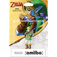 Nintendo - Figura Amiibo Link Ocarina of Time, Colección Zelda