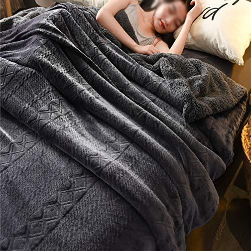 BIXUYAO Manta/Ponderado Queen Size Camping Manta Suave Gemelas Mantas Tamaño Completo Decoración...
