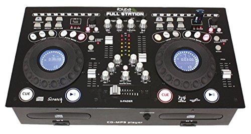 Ibiza 15-2215 Professionnelles Mischpult mit Dual CD/USB/SD-Spieler