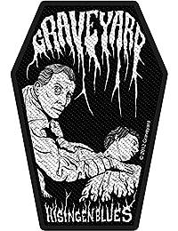 Graveyard parche–Hisingen Blues–Graveyard Patch–tejida & licencia oficial..
