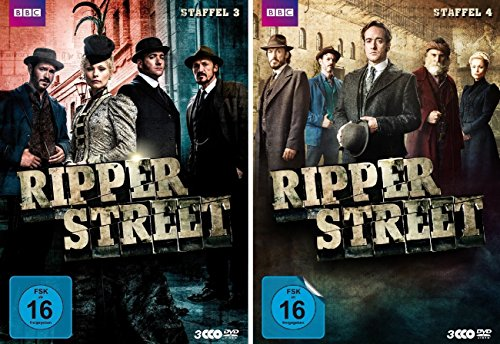 Ripper Street - Staffel 3+4 (6 DVDs)