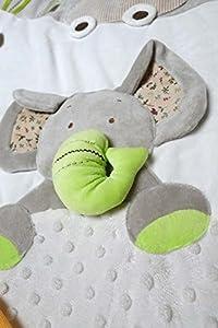 MiniDream Baby Musical Jumbo Playmat Activity Gym - Beige