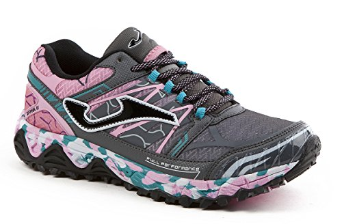 JOMA Sierra Lady, Zapatillas de Running para Asfalto para Mujer, Gris