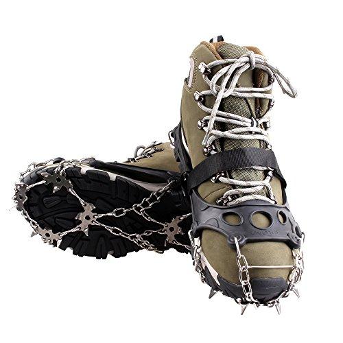 kepooman-ramponi-a-18-punti-a-forma-di-artiglio-antiscivolo-copriscarpe-neri-catena-in-acciaio-inoss