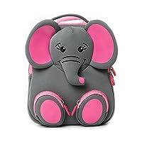 Kids Backpack, School Bags for Kids, Animal Backpack Nursery Bags Rucksack for Nursery Toddler Bag with Reins Kids Harness Bag by Cocomilo (Grey Elephant)